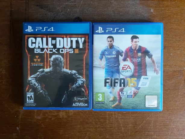 Call of Duty Black Ops 3 + Fifa 15 (Playstation 4 / Ps4)