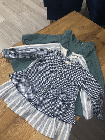 Zara koszula  _ sukienki reserved .