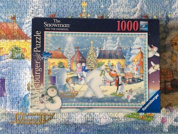 """""""The Snowman"""" Ravensburger, 1000 дет. (комплект) пазл б/у"""