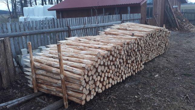 Kołki ogrodzeniowe słupki drewniane