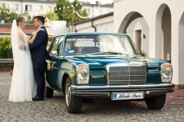 Zabytkowy Mercedes W114, auto do ślubu