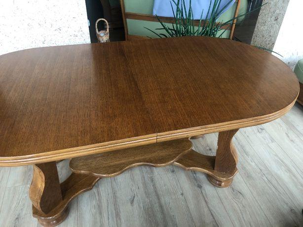 Rozsuwana ława-stół do salonu / ławostół