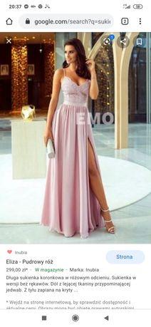 Sukienka dluga wesele
