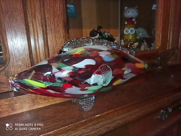 PRL ryba szklana dla kolekcjonera
