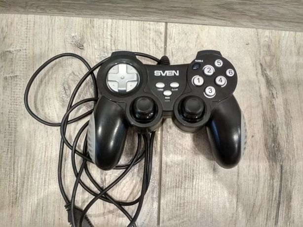 Дротовий геймпадSven X-Pad PC Black/Silver