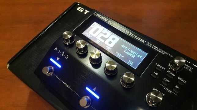 Boss gt 1000 core multiefekt gitarowy basowy efekt