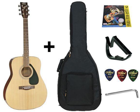 Гитара акустическая Yamaha F310 (чехол, капо, струна, ключ)