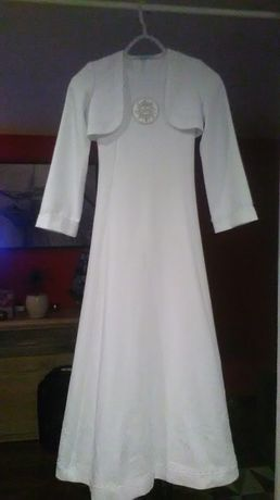 Sukienka komunijna + akcesoria komunijne