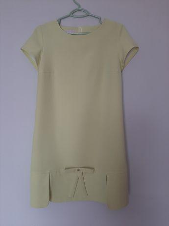 Sukienka M seledyn jasny