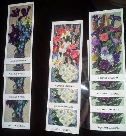 Kartki pocztowe z lat 70-tych okolicznościowe.