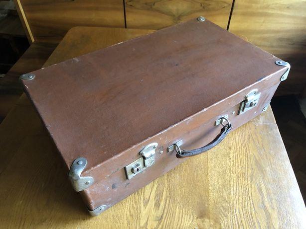 вінтажна валіза та військовий ящик ссср + ящики бандеролі 6шт чемодан