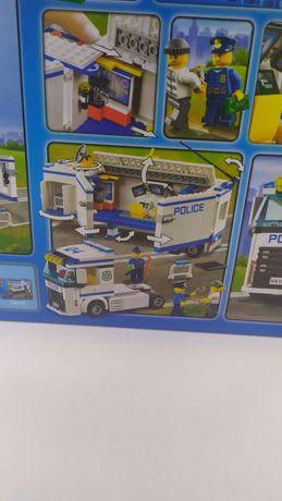 Новый конструктор фура перевозчик полиция Лего конструктор поліція