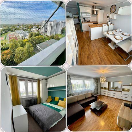 TYSIĄCLECIE | Mieszkanie 52m2, 2 Pokoje, Duży Balkon | Wysoki Standard
