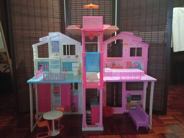 Casa da Barbie com 3 andares