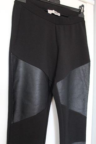 Spodnie a'la legginsy z wstawkami rozmiar z metki M