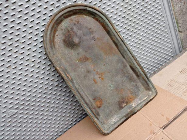 Старинный поднос для под угольный самовар латунный