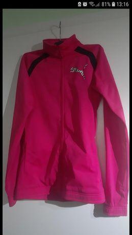 Nowy dres puma czarno-różowy