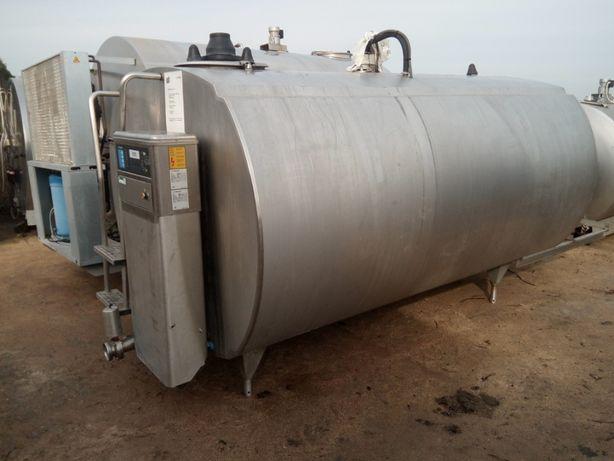 Zbiornik Schładzalnik do Mleka Delaval 6000l 2008r. Robot vms