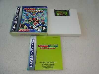 Mario & Luigi Superstar Saga (gba, game boy advance) полнокомплект