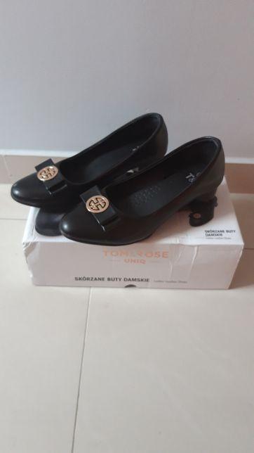 Skórzane buty damskie roz. 36