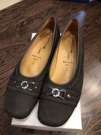 Элегантные немецкие туфли 41-42 (8 размер немецкий) THERESIA MUCK