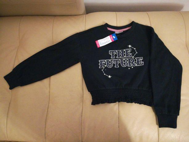 NOWA BLUZA, typy crop top, bluzka dla dziewczynki, 146/152