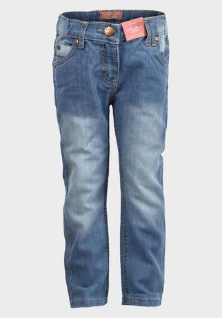 Модные джинсы скинни Funky Diva для девочки 3-6 лет
