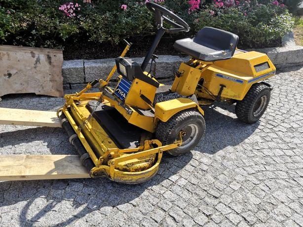 Stiga Park 2000E | Traktorek do koszenia | Pług | Wirnik do śniegu