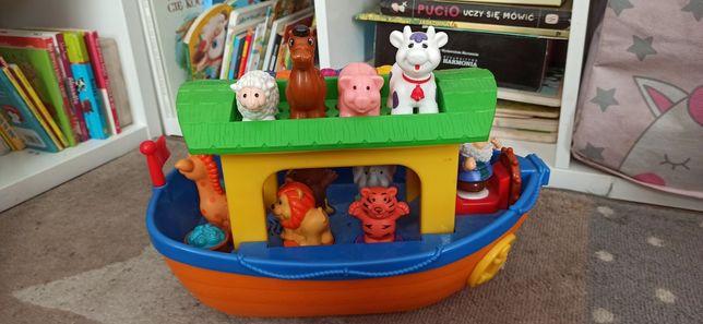 Arka Noego zabawka grajaca wydająca dźwięki dumel