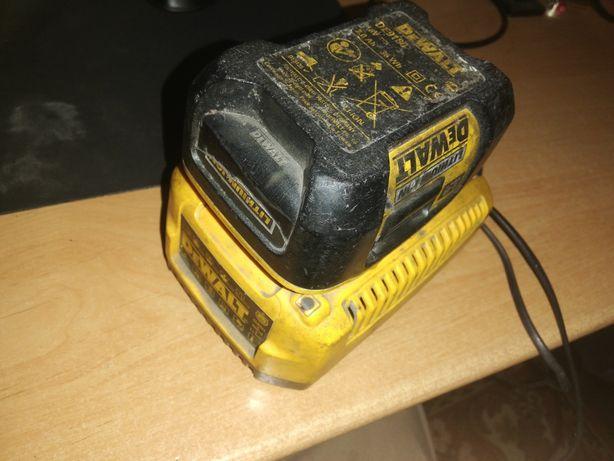 Carregador + bateria Dewalt 18V