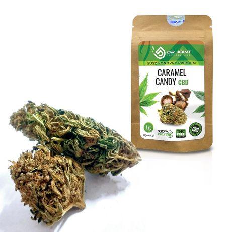 Dr Joint Susz Konopny Premium CBD Caramel Candy 1g Konopie Hurt Detal
