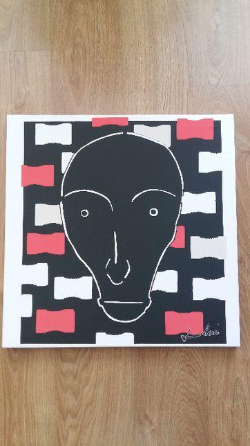"""Unikalny obraz na płótnie - """"Space Face"""""""