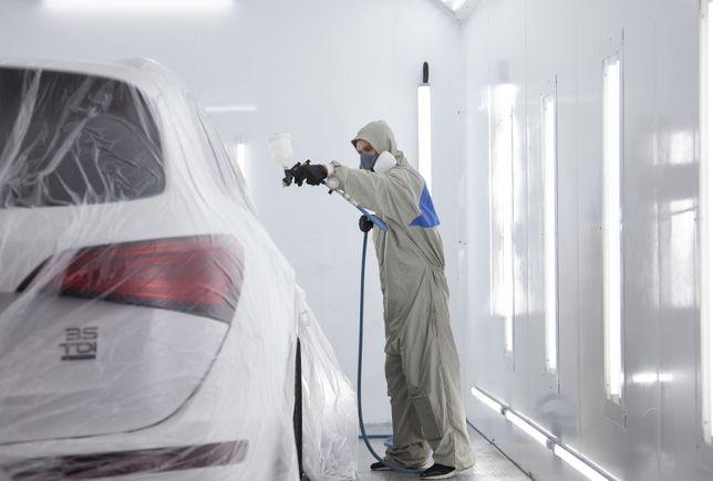 Автомалярка, фарбування автомобіля, якісна автоемаль (автоцентр ROLEN)