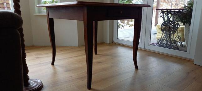 Stół bez blatu z małą szufladką