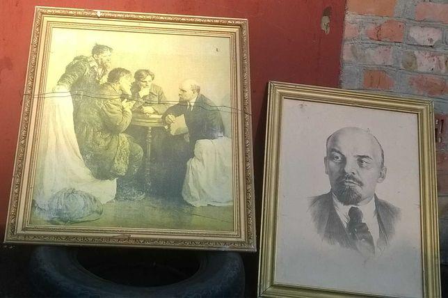 Картины из СССР Ленин Ильич Ульянов