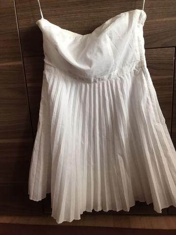 Sukienka bez-ramiączek h&m 36