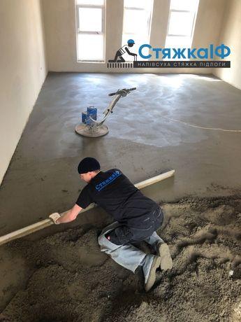 Напівсухі стяжки підлоги Стяжка для теплої підлоги Механізована стяжа