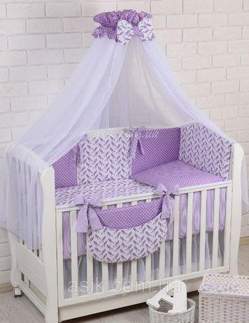 Продам комплект постельного белья  Asik с защитой на кроватку
