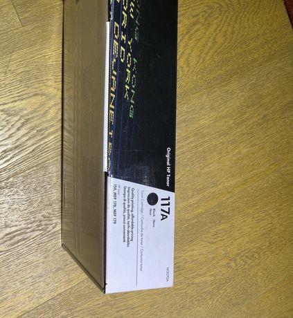 Лазерный картридж HP 117A Black (W2070A)