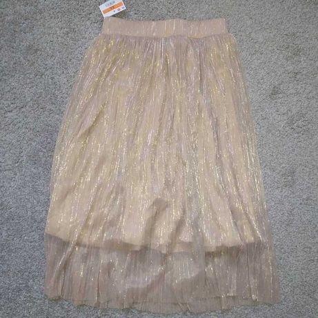 spódnica, plisowana, sinsay, r xs