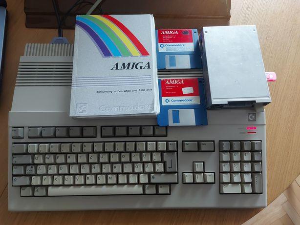 Amiga 500 RED LED 2.5 mb kickstart 1.3/3.1 gotek