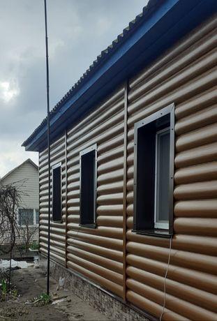 Сайдинг, заборы, крыша, утепление, внутренние работы