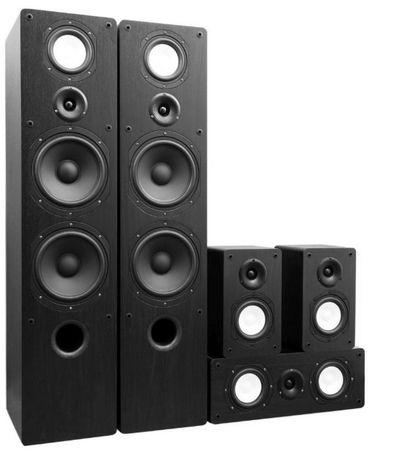 Zestaw kolumn 5.0 Taga Harmony TAV-806, głośniki, kino domowe