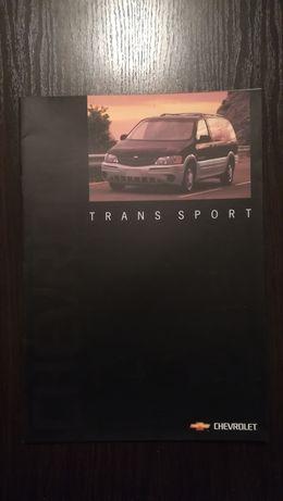 CHEVROLET Trans sport. Prospekt
