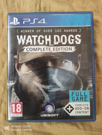 Watch Dogs Complete Edition PlayStation 4,5