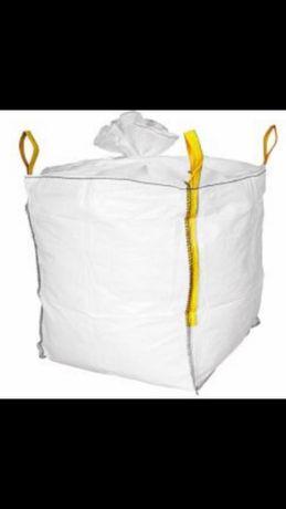 Importer opakówań BIG BAG BIG-BAGi wentylowane z lejem wysypowym