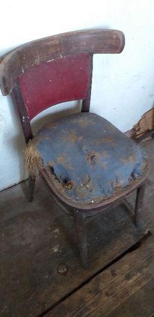 Krzesło do renowacji zabytek
