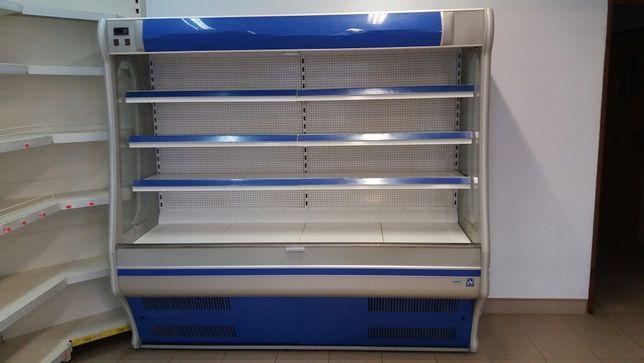 wyposażenie sklepu regał chłodniczy meble sklepowe