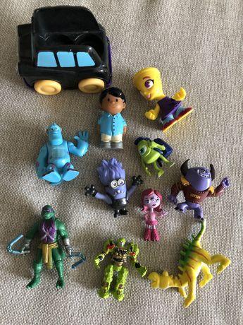 Набор игрушек Mothercare монстры нинзя