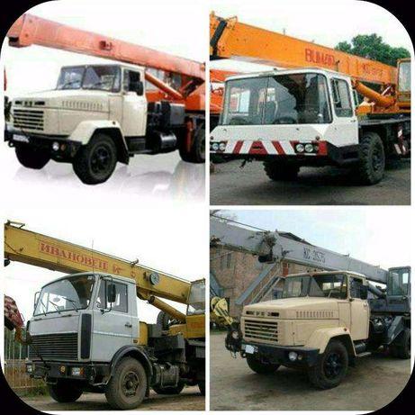 Аренда автокрана 10-25 тонн, услуги в Днепропетровске. Цена договорная